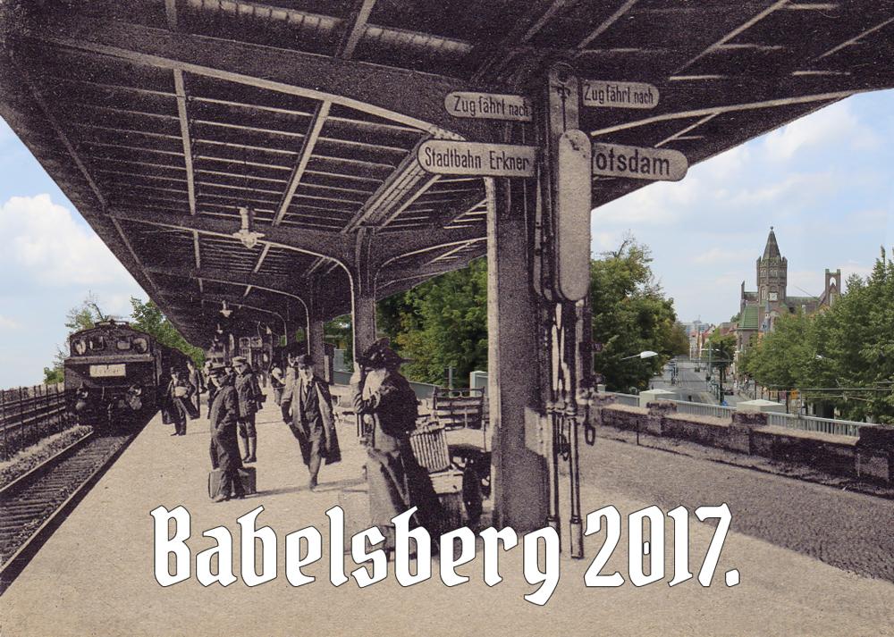Babelsberg-Kalender 2017 | Historische Postkarten und aktuelle Motive