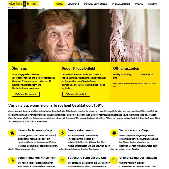 Hauskrankenpflege Altenburg & Schramm