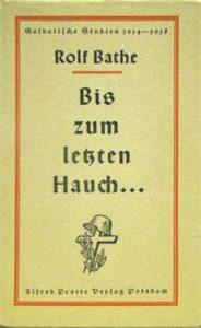 Alfred-Protte-Verlag Potsdam Bis-zum-letzten-Hauch