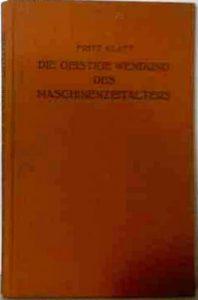 Alfred-Protte-Verlag Potsdam Die-geistige-Wendung-des-Maschinenzeitalters