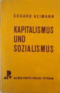 Alfred-Protte-Verlag Potsdam Kapitalismus-und-Sozialismus