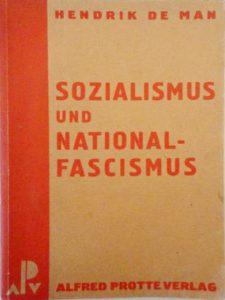 Alfred-Protte-Verlag Potsdam Sozialismus-und-Nationalfascismus