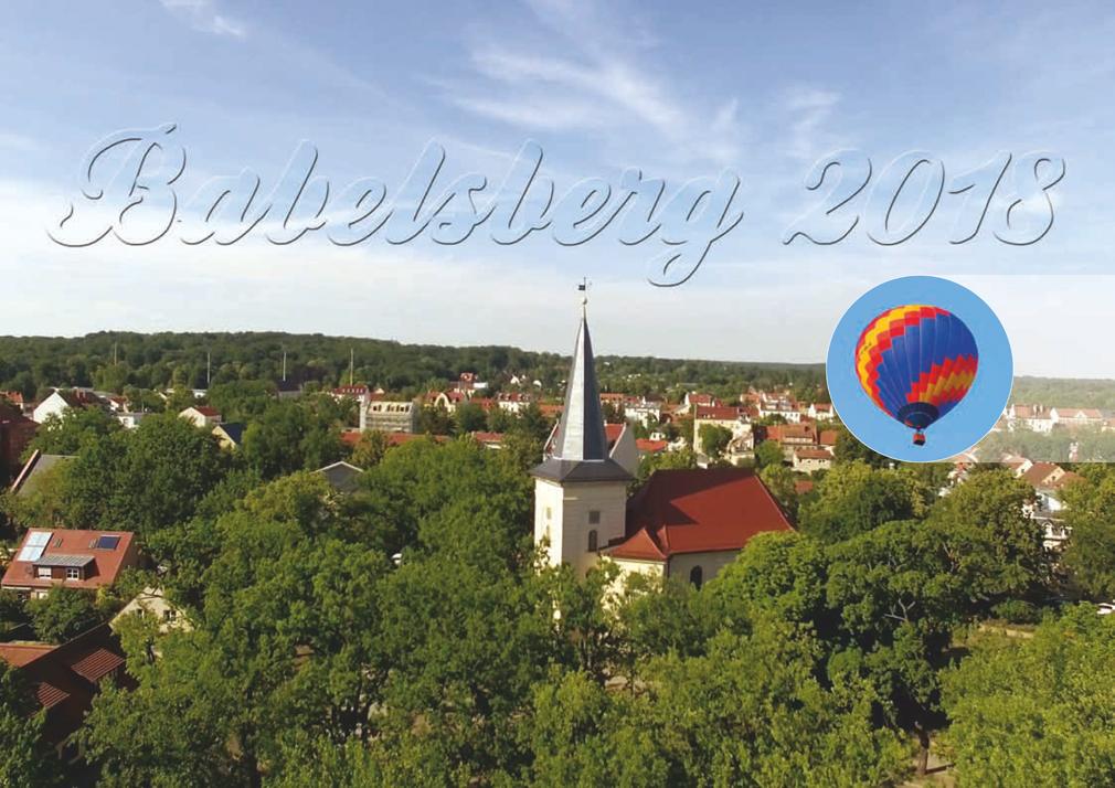 babelsberg kalender 2018